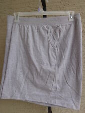 NEW  WOMENS JUST MY SIZE STRETCH WAIST POCKET SHORTS GRAY 2X