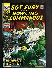 Sgt Fury and his Howling Commandos #73 ~The Russian Front ~ 1970 (8.0) WH