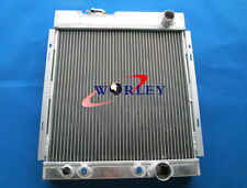For FORD MUSTANG V8 289 302 WINDSOR 1964 1965 1966 ALUMINUM RADIATOR