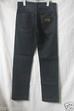 VINTAGE MENS NO501 D&G jeans STRAIGHT PIT Denim w28 L32 made in ITALY f-132
