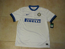 NIKE F.C. INTER MILAN PIRELLI WHITE/AWAY JERSEY 2013/14 KIT NEW W/ TAGS ITALIAN