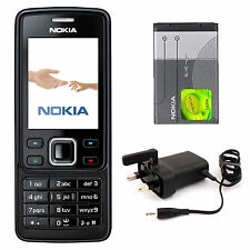 New Condition Nokia 6300 Black Unlocked Camera Bluetooth Classic Mobile Phone