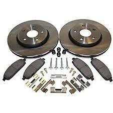 Honda CRV 1997-2001  Front Brake Kit - Pads Rotors & Hardware