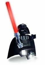 LEGO STAR WARS DARTH VADER LED TORCH Light-Up Action Figure, Saber, Box Damage