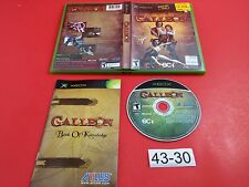 Galleon [Complete CIB] (Microsoft Xbox) Tested & Working