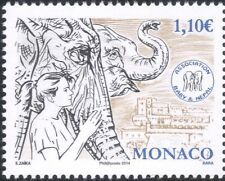 Monaco 2014 Princess Stephanie/Elephants/Nature/Wildlife/Animals/Zoo 1v (mc1023)