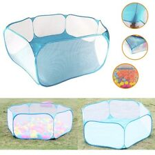 Foldable Outdoor Indoor Kids Game Play Huts Toy Tent Ocean Ball Pit Pool Gift