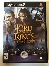 Lord of the Rings Two Towers - Playstation 2 - Replacement Case - No Game