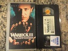 WARLOCK III 3 THE END OF INNOCENCE OOP VHS 1998 WITCHCRAFT HORROR BRUCE PAYNE!