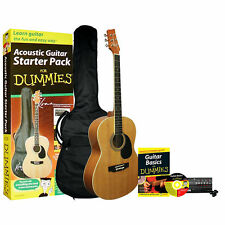 Kona Acoustic Guitar for Dummies Bundle: Guitar, Accessories Book & CD NEW NIB