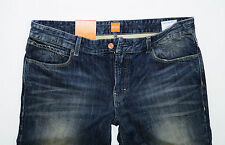 NEU - Hugo Boss Orange 63 - W32 L34 - Dark Vintage Denim - Slim Fit Jeans  32/34