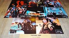 FUTURE COP  ! jeu photos cinema lobby cards fantastique