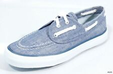new SPERRY Top-Sider womens SeaMate blue denim flats boat shoes 5.5