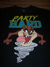 WB LOONEY TUNES TAZ TASMANIAN DEVIL PARTY HARD T-Shirt 3XL XXXL NEW