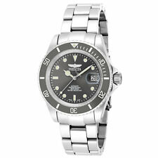 Invicta 18504 Gent's Grey Dial Steel Bracelet Automatic Watch