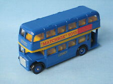 Lledo Lodekka Lesney Staff Bus Hackney Wick Boxed Toy Model 90mm Boxed