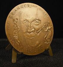 Médaille 81mm Bicot et Suzy(Perry et Winnie)/Martin Branner par Joly Medal 铜牌