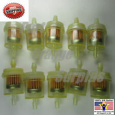 10XPC Gas Fuel Filter For Moped Scooter Go Kart Dirt Bike ATV TaoTao SUNL Roketa