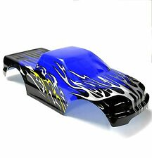 08035 10110-2 RC 1/10 Scale Monster Truck Body Shell Cover HSP Blue Cut