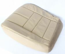 2008 2009 2010 Ford F-250 F-350 Diesel 4X4 Driver Bottom Leather Seat Cover tan