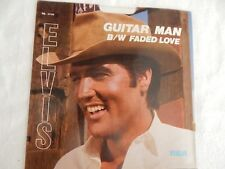 """Elvis """"Guitar Man"""" PICTURE SLEEVE! NEW! MINT! ABSOLUTELY PERFECT!!"""