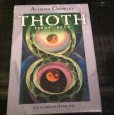 Aleister Crowley Thoth Tarot Deck Frieda Harris Astrology  CARDS + Instructions