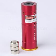 12 Gauge Red Dot Laser Cartridge Bore Sighter 12GA Boresighter for Shotgun Rifle