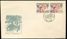 Czechoslovakia 1968 Sokolovo Battle FDC First Day Cover #C34752
