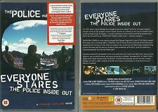 RARE / DVD - THE POLICE STING : EVERYONE STARES INSIDE OUT / COMME NEUF LIKE NEW