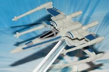 2015 STAR WARS MICRO MACHINES RESISTANCE X-WING FIGHTER Blue # 3
