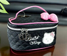 New Hellokitty Cosmetic bag make up Case LM55101  Black