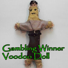 Gambling Winner Voodoo Doll Cards Poker Casino Slot Machines Vegas Money Race