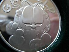 1-OZ.999 SILVER CHRISTMAS GARFIELD PAWS ENGRAVABLE COIN GIFT BOX+ GOLD
