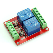 2-Channel DC 24V Double Photo Coupler Isolated Relay H/L Trigger Layer PCB board