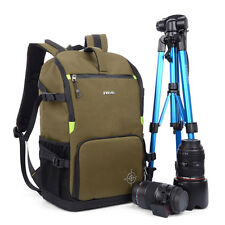 Luxury DSLR Camera Backpack Shockproof Bag Case For Canon EOS Nikon Pentax Sony