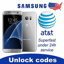 UNLOCK SERVICE/CODE FOR AT&T SAMSUNG GALAXY S2,S3,S4,S5,S6,S7,EDGE CLEAN IMEI