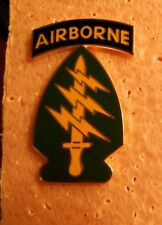 COMBAT SERVICE ID.BADGE, 1ST SPECIAL FORCES REGIMENT, WORN BY ALL SF GROUPS