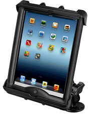 RAM Boat/Flat Surface Mount, Fits iPad w/Lifeproof Nuud, Lifedge Cases
