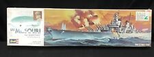 Vintage  USS MISSOURI Revell Model Kit New Sealed  MIGHTY MO US Navy Ship H-301