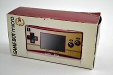 Game Boy Micro 20th Anniversary Famicom Mario Special Edition New in Box!