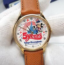 "MICKY MOUSE,Seiko Y131-6310 ""Tokyo 5yr Disneyland"",MIB,CHARACTER WATCH, R18-30"