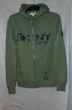 DKNY Jeans Mens Size Small Green Hoodie - New and Genuine