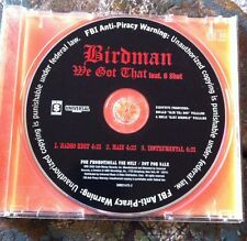"Birdman ""we got that"" cd promo Young Money CaSh Money DRAKE lil Wayne niki minaj"