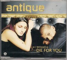 Antique - I would Die For You / 4track Hard to Find Edition Greek CD Paparizou