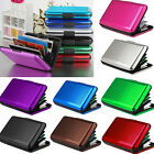 Women Men Waterproof ID Credit Card Wallet Holder Aluminum Metal Pocket Case
