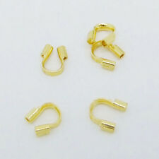 Wholesale 100pcs Wire Guardian Protectors Crimp loops Jewelry findings 4x5mm