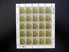 GB England 2012 Regional RARE 87p Complete Sheet of 25 NEW SALE PRICE FP2262
