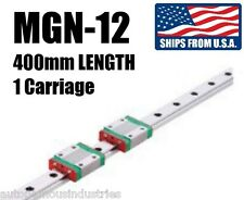 MGN12 400mm Length Linear Way/Rail with Bearings/Carriages for Kossel 3D Printer