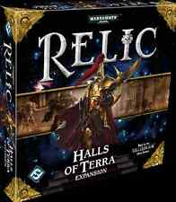 Relic the Board Game: Halls of Terra Expansion - *Brand New in Shrink*