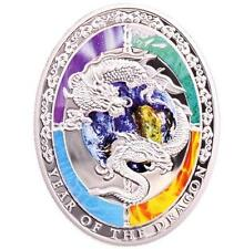 Niue 2012 1$ Lunar Calendar year of the Dragon Chinese Dragon Silver Coin